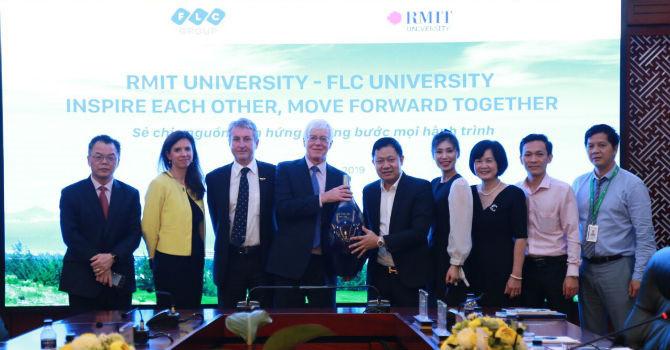 """""""Bắt tay"""" RMIT Australia, Đại học FLC đẩy mạnh hợp tác quốc tế"""
