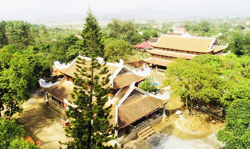 Chùa Quỳnh Lâm được bảo tồn hiệu quả