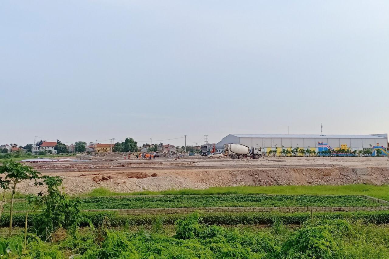 Khu quy hoạch dân cư tập trung phường Yên Giang vừa được xây dựng, quy hoạch và tổ chức đấu giá thành công