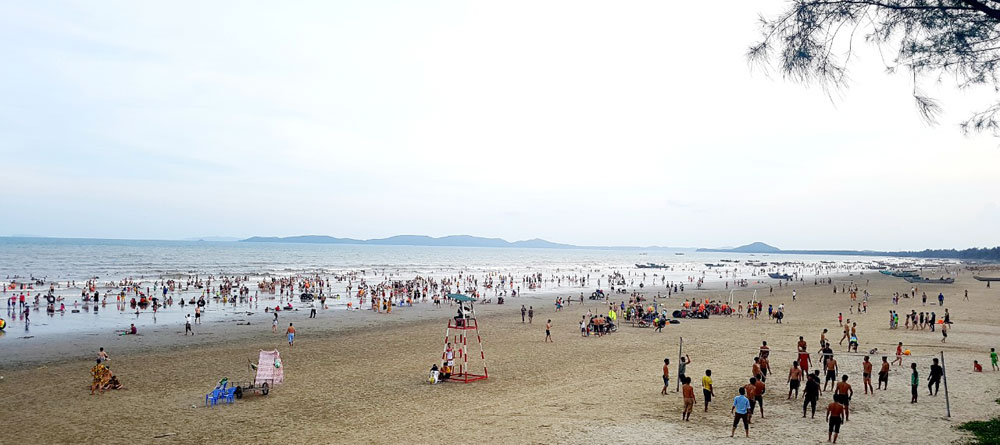 Trong 6 tháng đầu năm đã có hơn 1,5 triệu lượt khách du lịch đến Móng Cái.