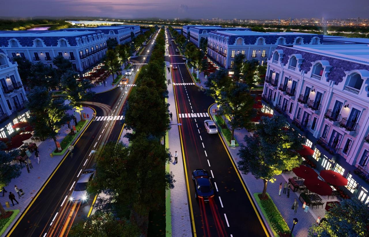 Trong tương lai Shophouse Uông Bí New City hứa hẹn là đại lộ mua sắm sầm uất tại thành phố.