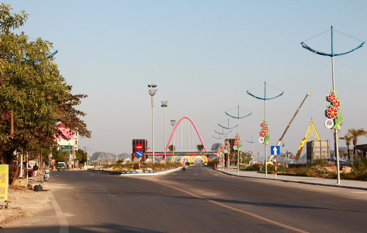 Hạ tầng kỹ thuật tại KKT Vân Đồn ngày một được đầu tư hoàn chỉnh.