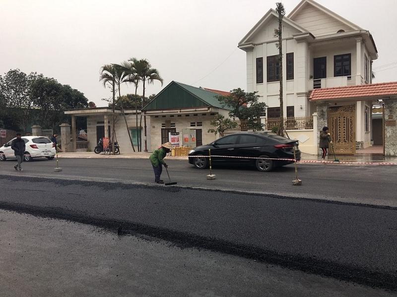 Dự án cải tạo, chỉnh trang Quốc lộ 279 (cũ) mặt đường từ 4 đến 6 làn xe, nay nâng lên 8 đến 10 làn xe.