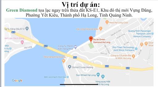 Tìm hiểu chi tiết về Vị trí dự án căn hộ chung cư Green Diamond Hạ ...