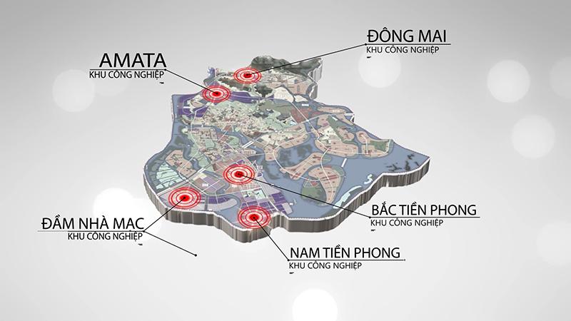 TX Quảng Yên hiện đã thu hút 5 khu Cn đầu tư vào địa bàn thị xã