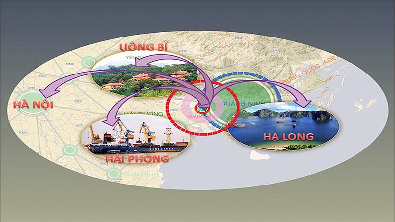 Quảng Yên nằm giữa 3 TP lớn: HP- Uông Bí- Hạ Long, thuận lợi cho việc giao thương…
