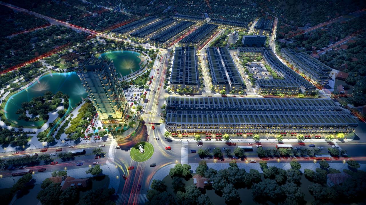 Vĩnh Yên Center City sở hữu vị trí đắc địa tại thành phố Vĩnh Yên