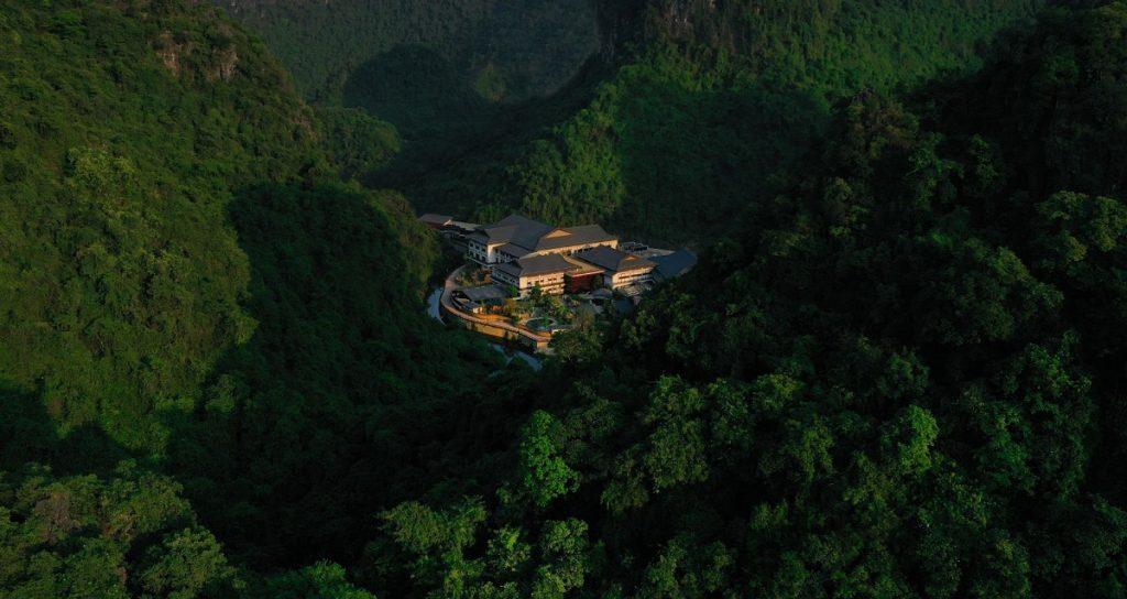 Flycam Yoko Onsen Quang Hanh Sungroup Quảng Ninh