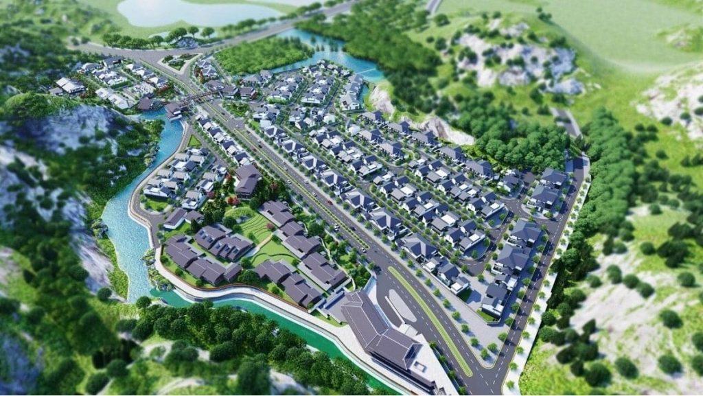 Phối cảnh dự án Sun Quang Hanh Yoko Onsen Villa