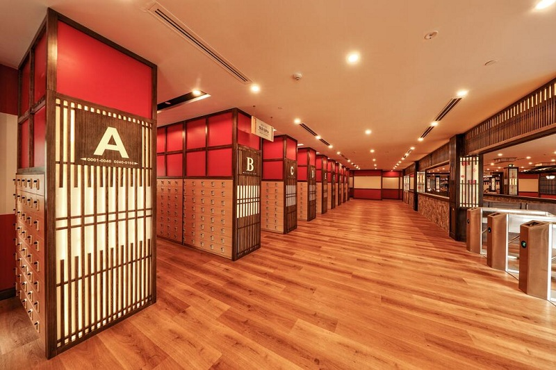 Phòng xông hơi Yoko Onsen Quang Hanh Sungroup Quảng Ninh