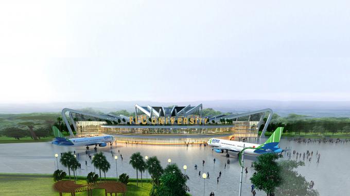 Phối cảnh dự án Khu đô thị Đại học FLC tại Quảng Ninh