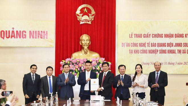 Quảng Ninh cấp phép siêu dự án pin năng lượng mặt trời 500 triệu USD - ảnh 1